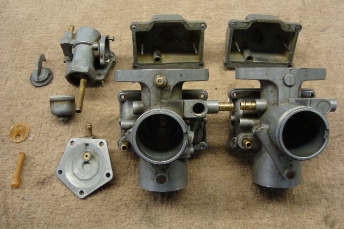 Carburetor Restoration Before