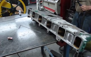 Alloy manifold welded