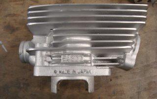 Vapour Blasted Cylinder
